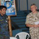 Учитывая многонациональность контингента, координировать работу экипажей в африканском небе - ...