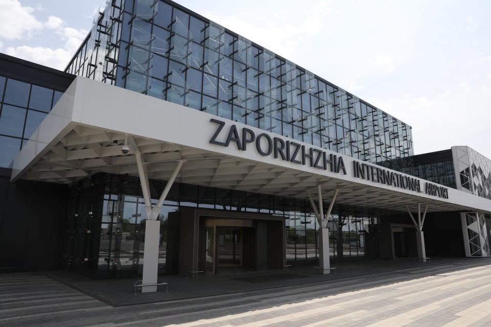 Территорию аэропорта Запорожье очистят от поросли киевляне