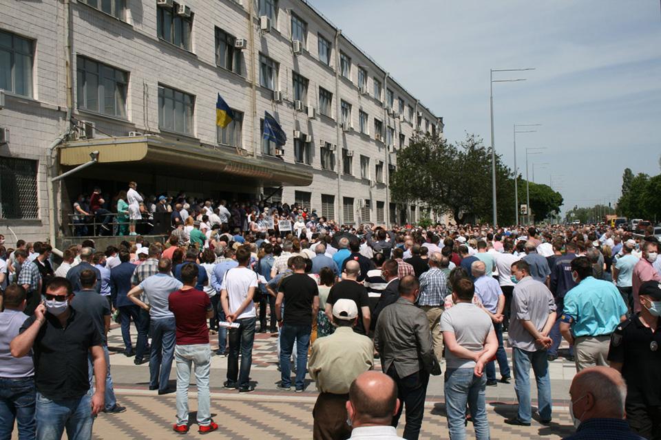 Резолюция открытого собрания трудового коллектива ГП «АНТОНОВ»