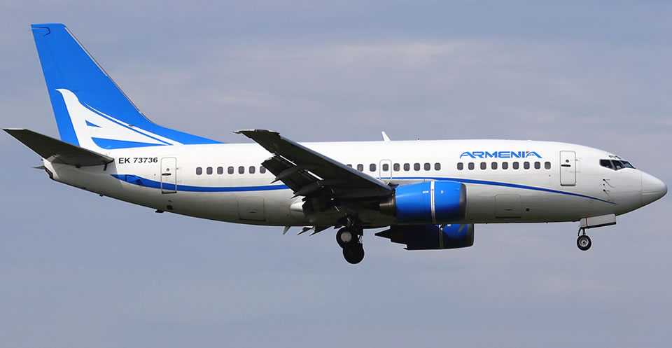 Авиакомпаниям Армении запретили полеты в Европейский Союз