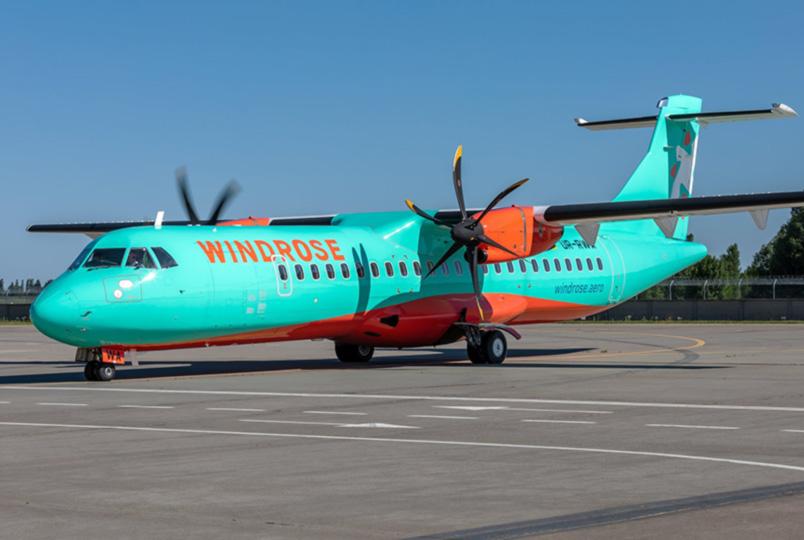 В Украину прибыл первый  ATR 72-212A авиакомпании Windrose