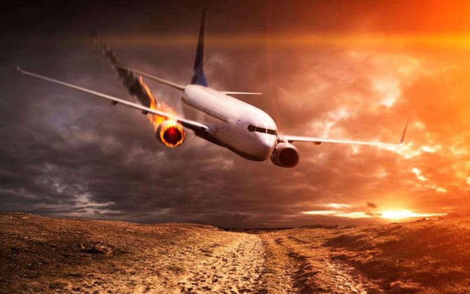 Зеленский рассказал, как падал в самолете и выжил