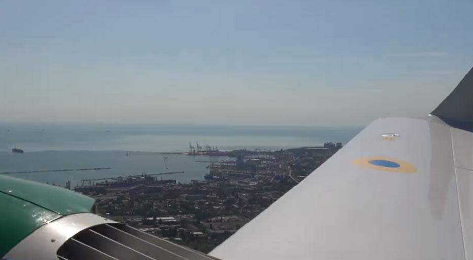 Одесские пограничники активно используют самолеты Diamond