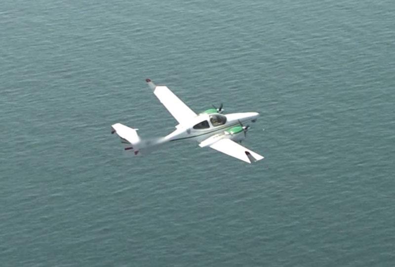 Пограничники во время воздушного мониторинга выявили загрязнение вод