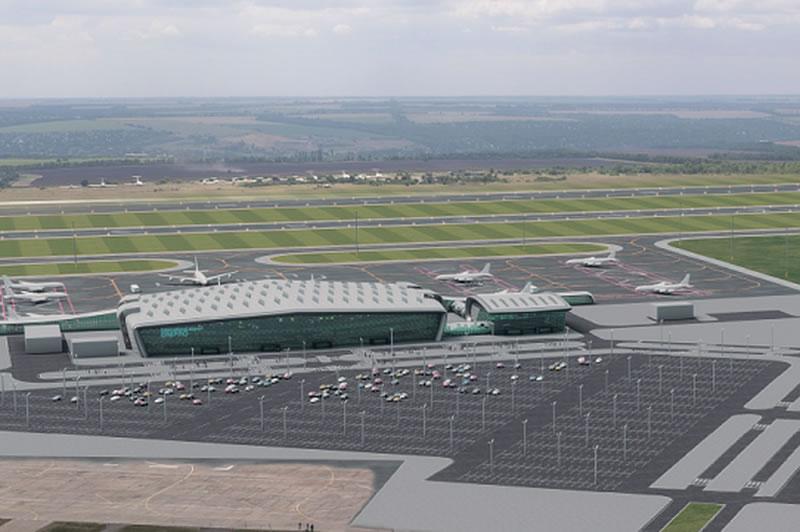Криклий ознакомился с ходом подготовки проекта аэропорта Днепра