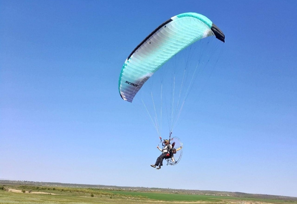 Сколько стоит научиться летать на параплане и где это можно сделать в Мелитополе