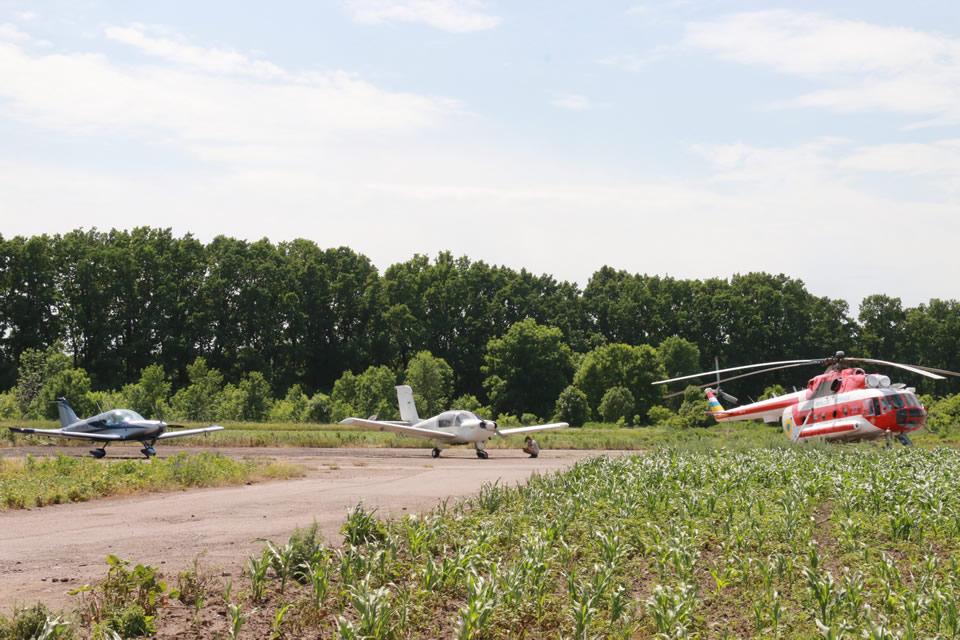 Авиаволонтеры патрулировали лесмассивы вместе с ГСЧС