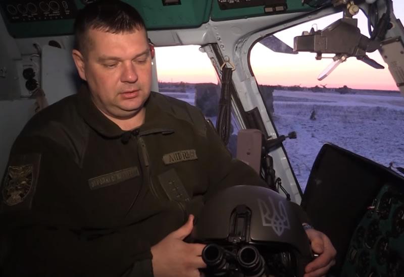 Вертолетчики летали ночью с использованием современных очков ночного видения