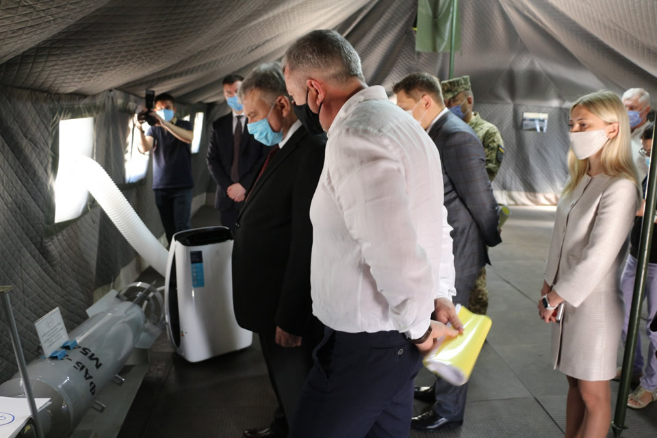 Министр обороны посетил предприятие