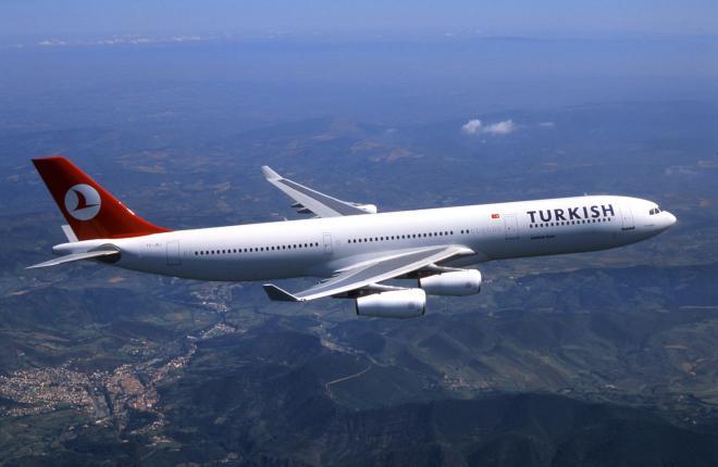 Информация о начале полетов Turkish Airlines оказалась преждевременной