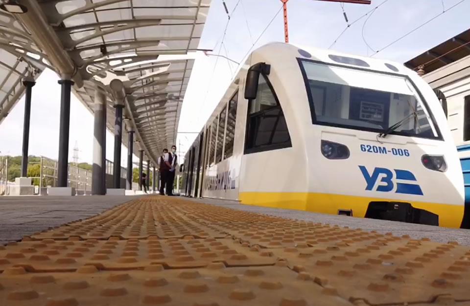 Станция Выдубичи сможет принимать Интерсити и экспресс в Борисполь