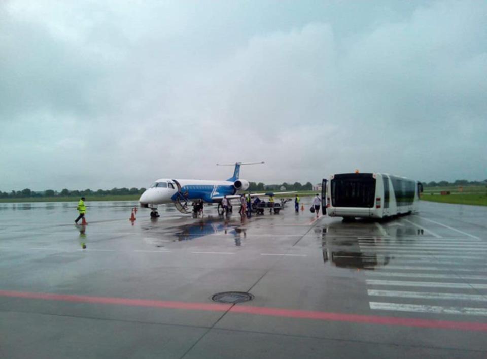 Авиакомпания Windrose запустила рейс Киев-Львов