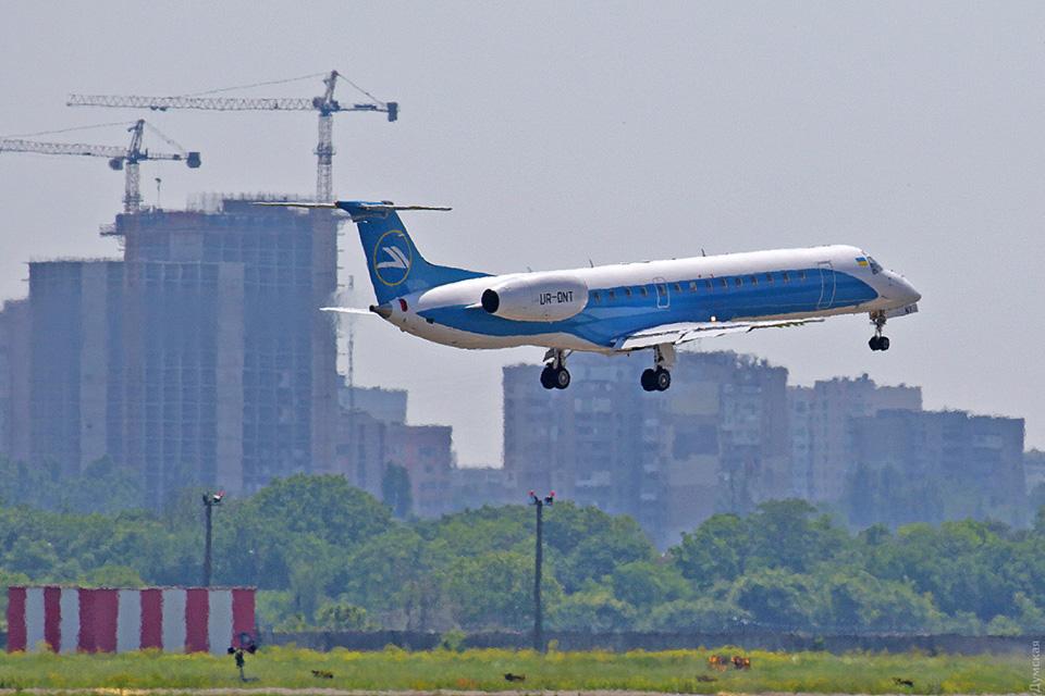 Авиакомпания Windrose выполнила первый рейс  Киев-Одесса