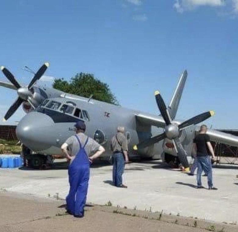 В ходе ремонта на Заводе 410 ГА был поврежден Ан-26