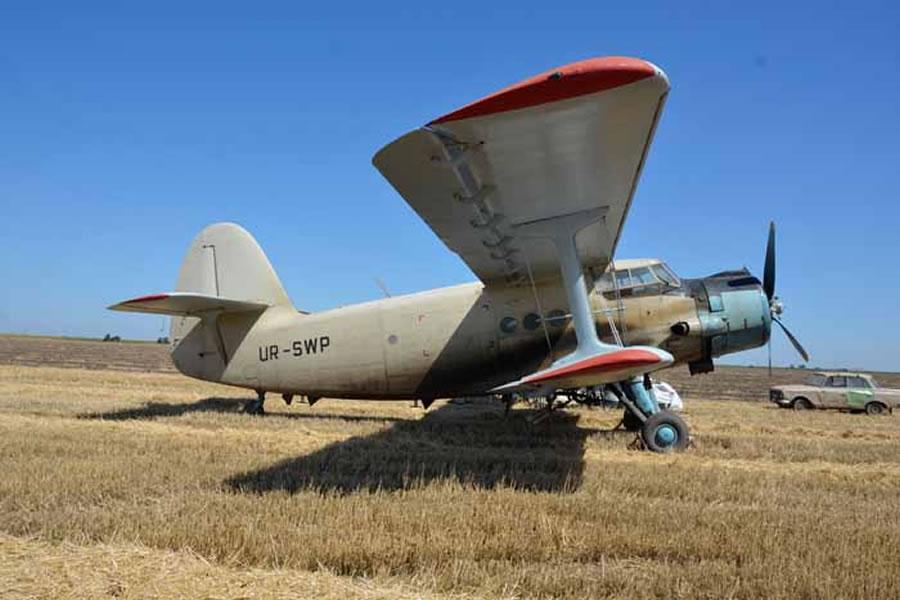 Ан-2 распугивал зверей в Аскании-Нова
