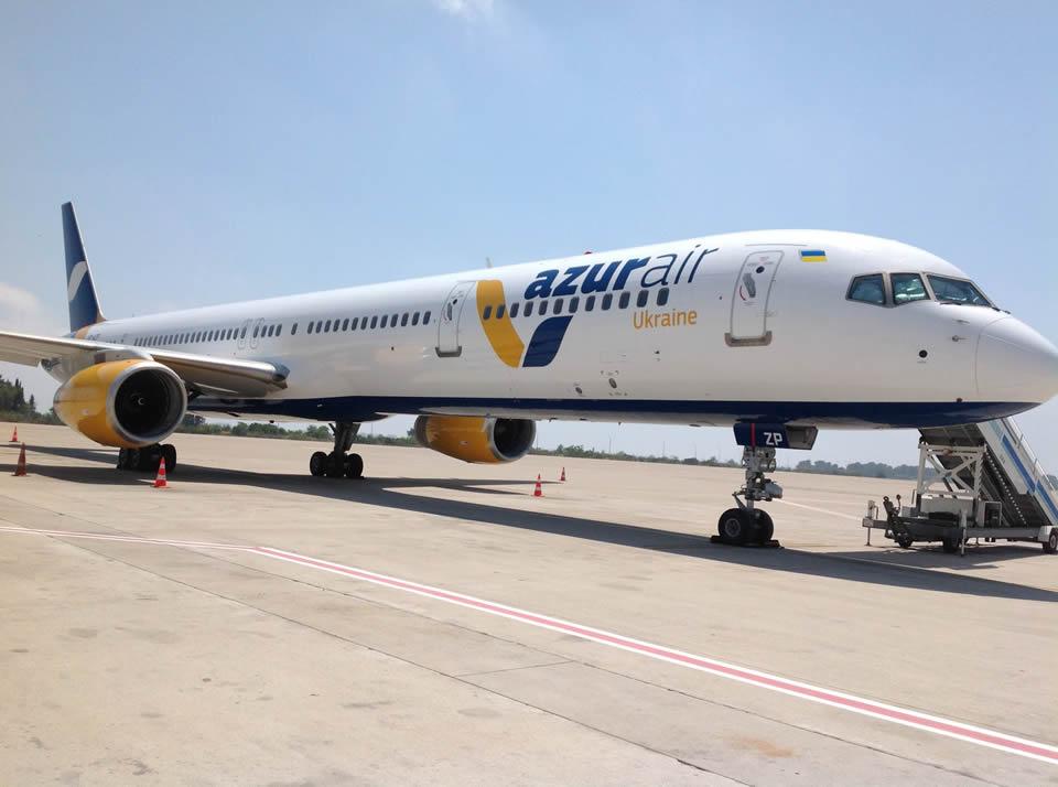Azur Air Ukraine получила Boeing 757-300