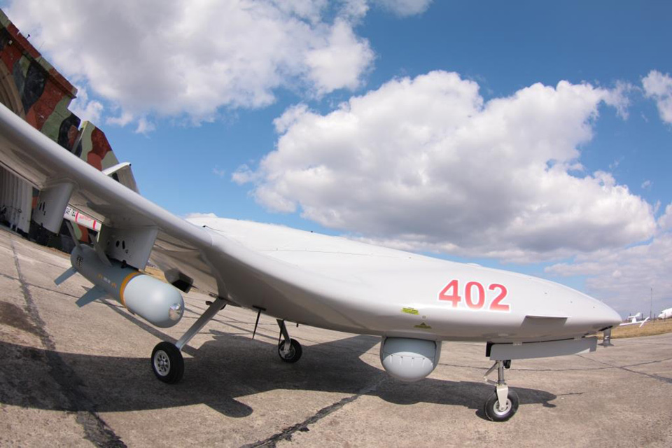 Bayraktar TB2 работал над Ровенским полигоном