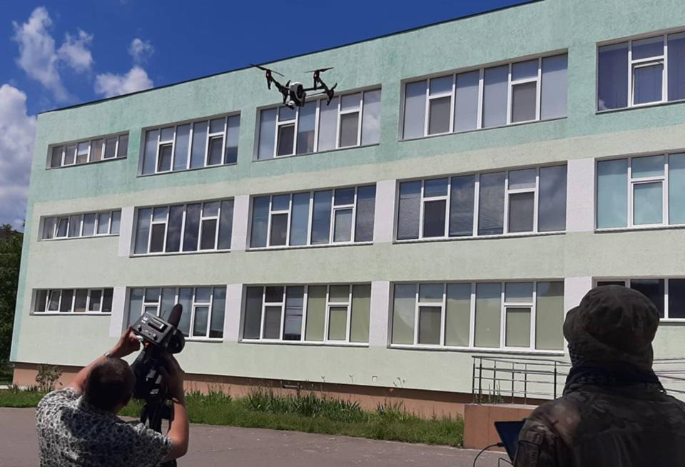 Винницкие волонтеры приобрели дрон для военных