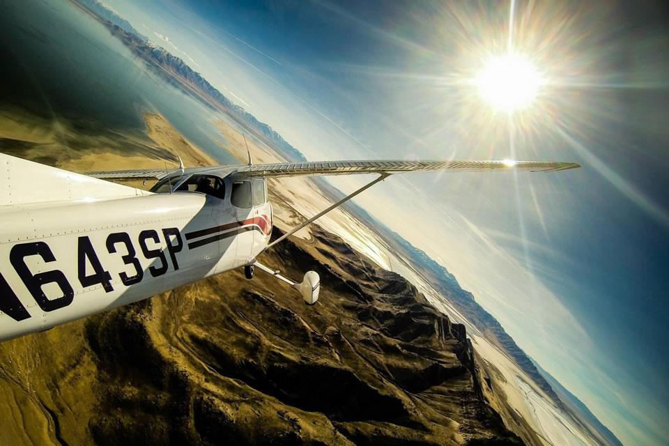 Как снять качественное видео с кабины пилота благодаря GoPro?