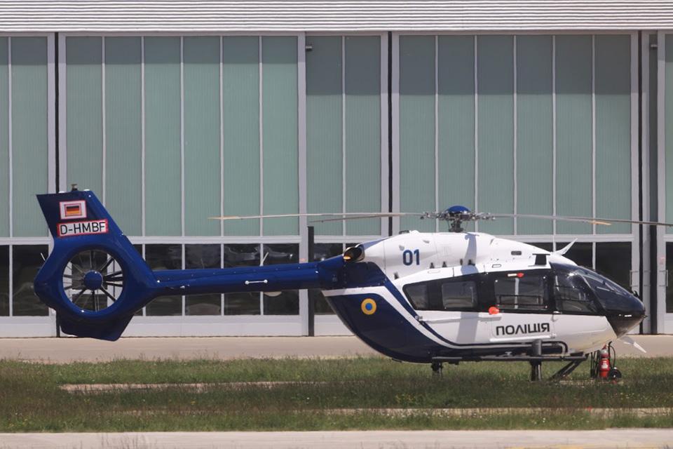 Вертодром Канев станет центром вертолетов Нацполиции