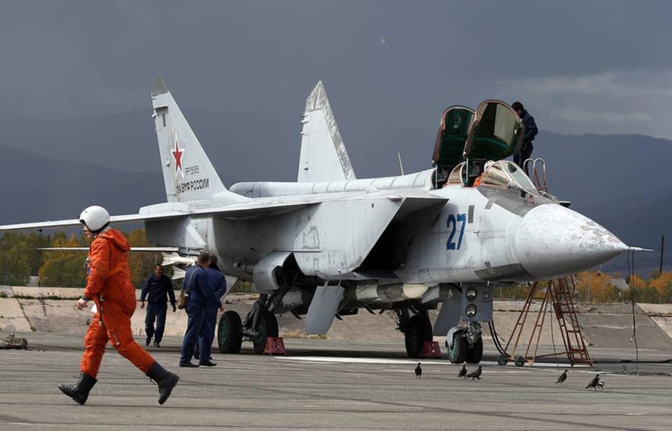 Российский чиновник продал четыре истребителя МиГ-31 за 612 рублей