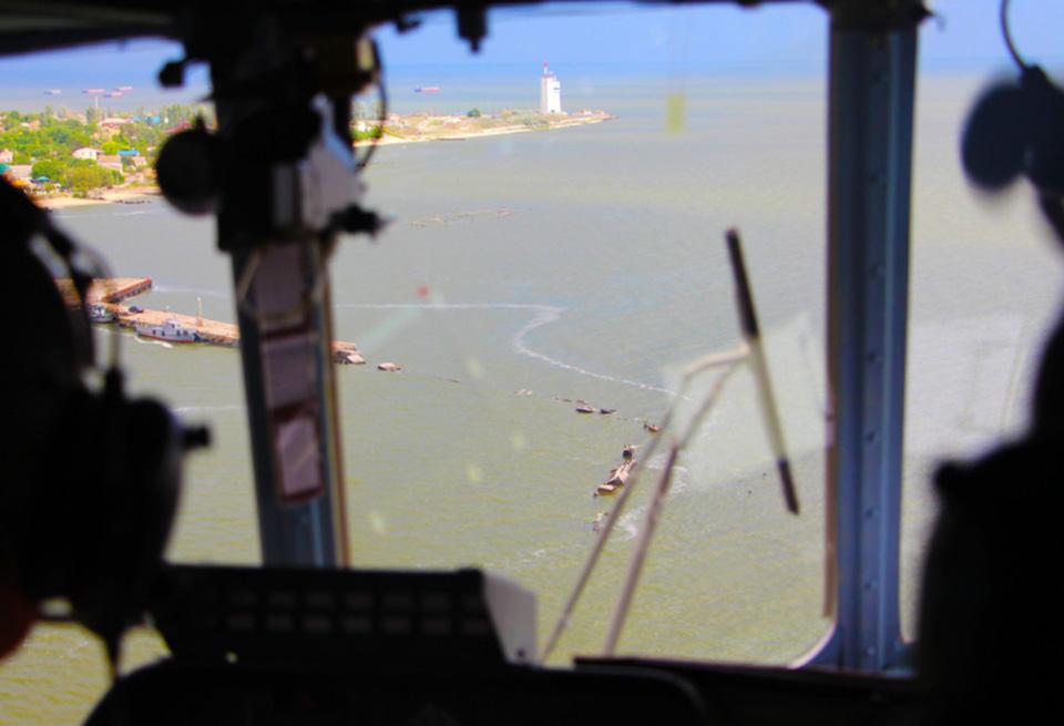 В Николаевской области прошли масштабные учения морской авиации