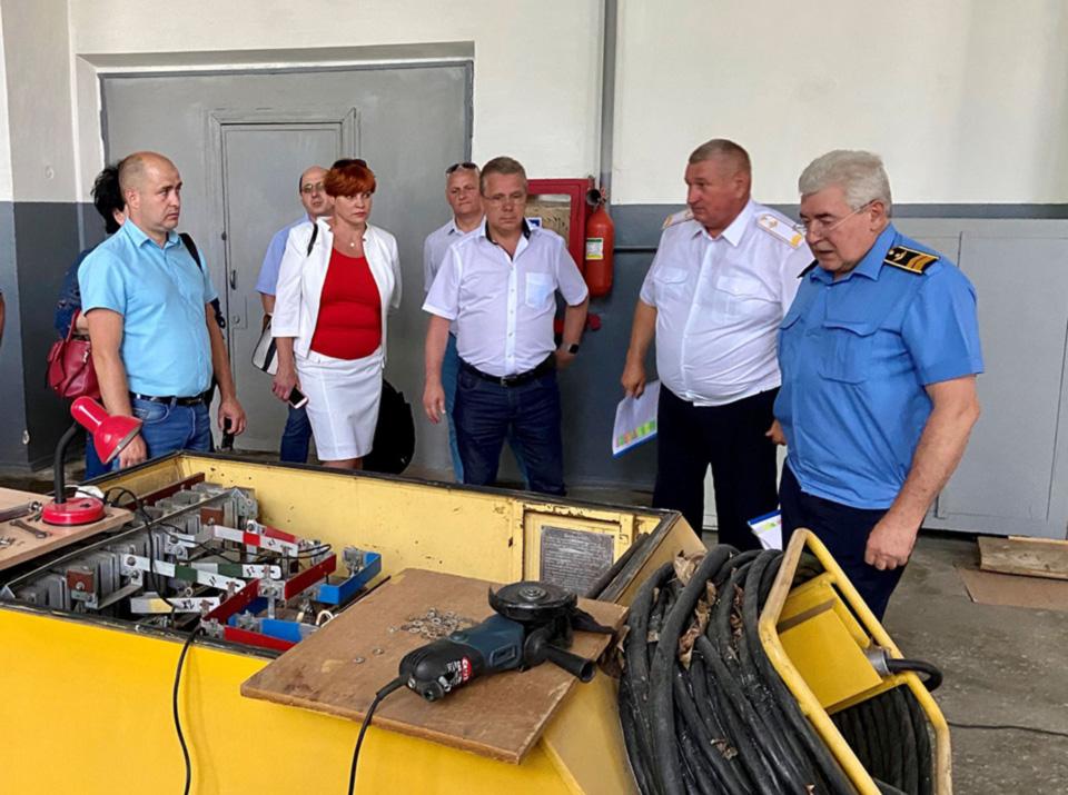 Рабочее совещание по подготовке авиационных специалистов в НАУ