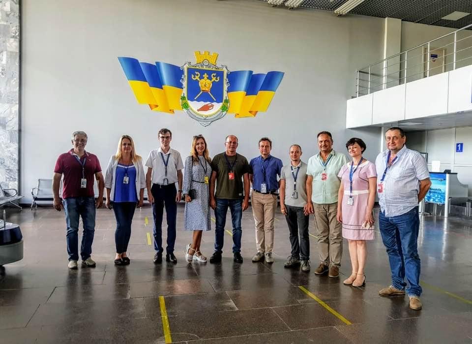 Авиакомпания Windrose провела аудит аэропорта Николаев