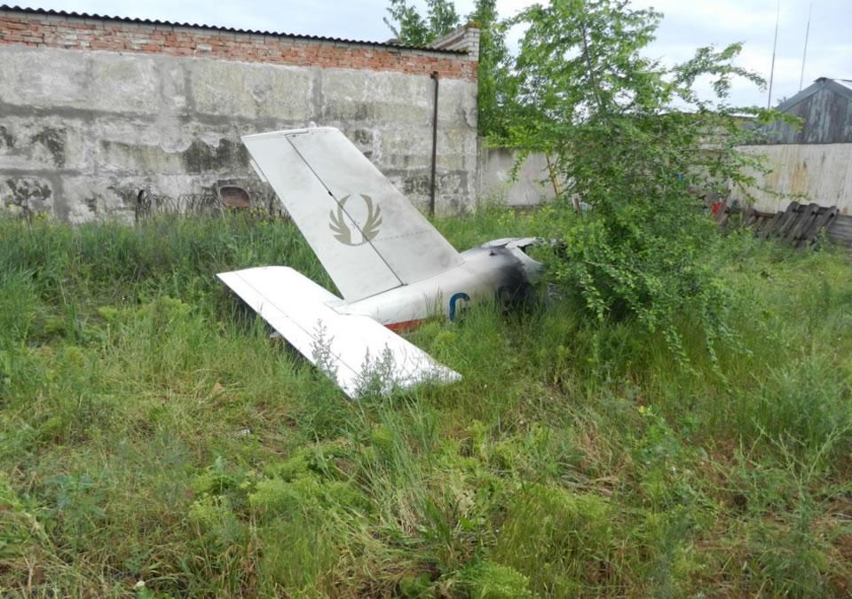 Самолет в Каховке, вероятно, сгорел из-за детонации топлива
