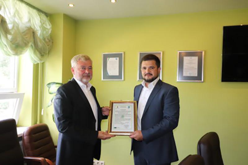 ГП «ЗАВОД 410 ГА» получил Сертификат NАТО