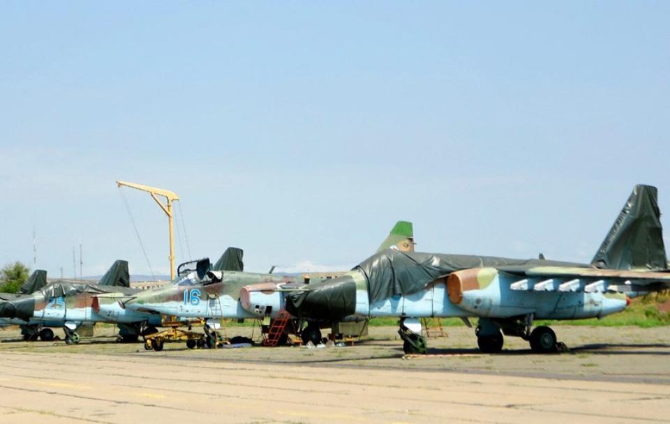 Грузия модернизирует все свои штурмовики Су-25 и вертолеты Ми-24