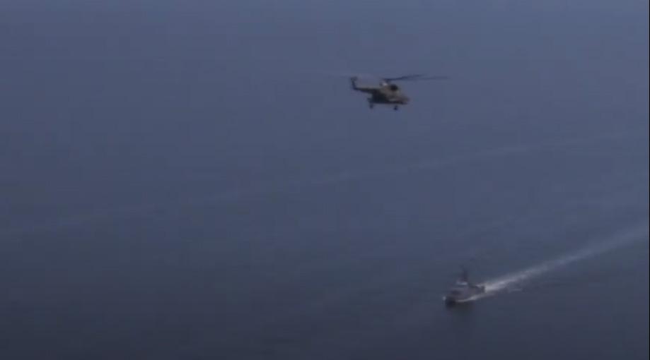 В рамках «Си Бриз-2020» провели боевые стрельбы с вертолета