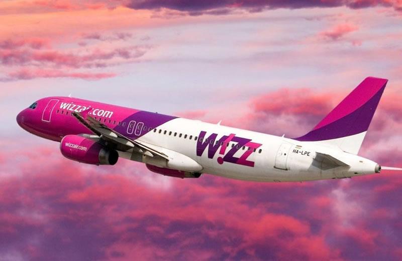 Wizz Air объявляет об открытии 5 новых маршрутов из Украины