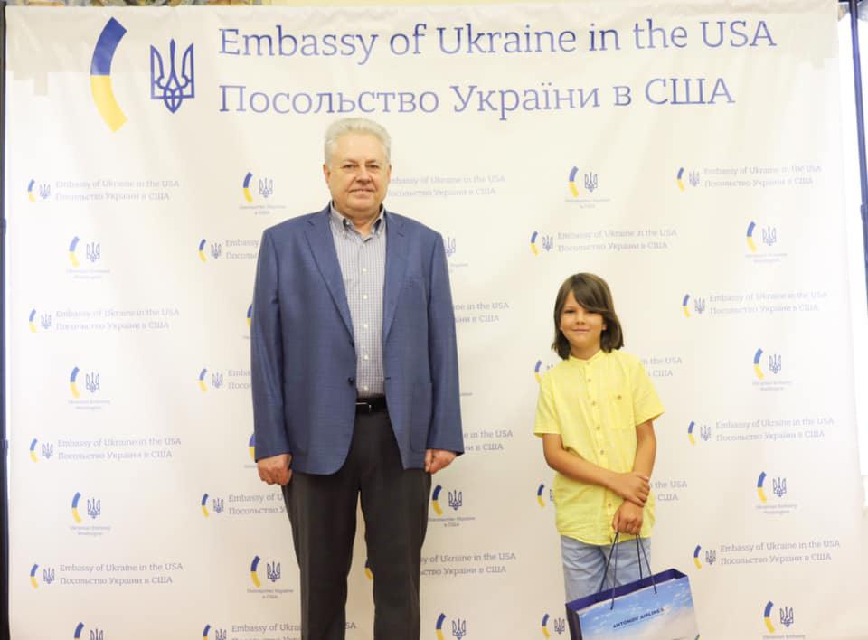 Посол Украины встретился с Захаром Лисковым
