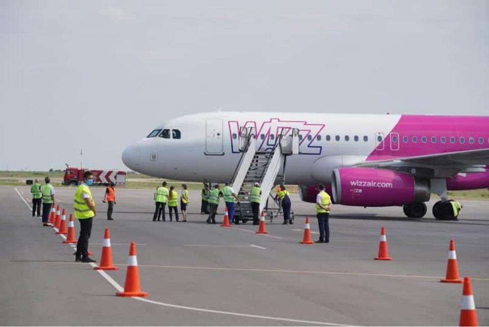 Wizz Air начала полеты в Запорожье из Будапешта