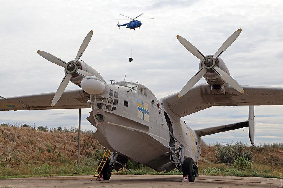 Морские авиаторы ВМСУ отметили день бригады