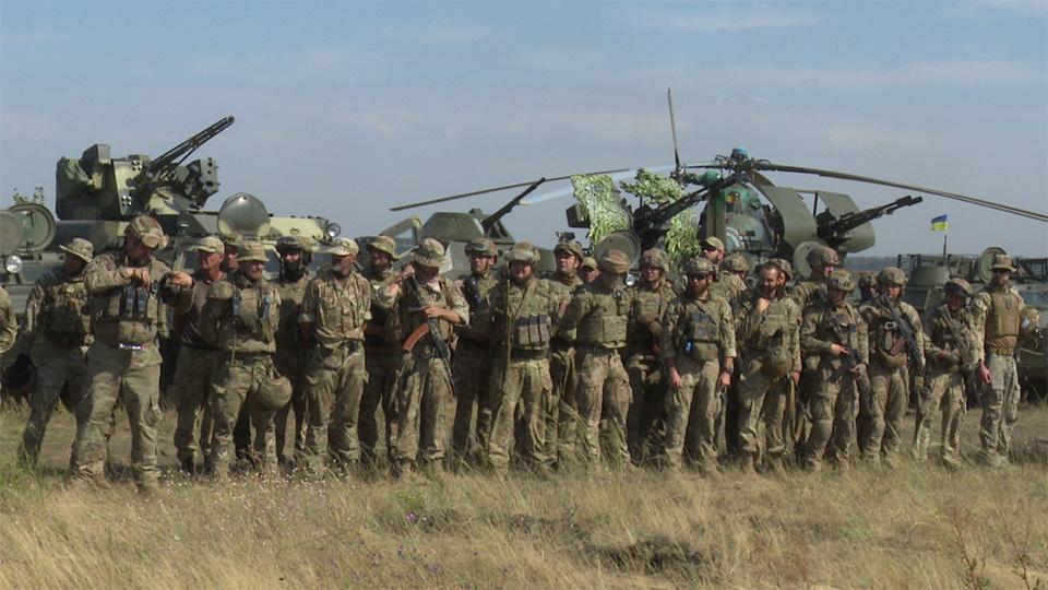 В Приазовье прошли учения резерва Объединенных сил