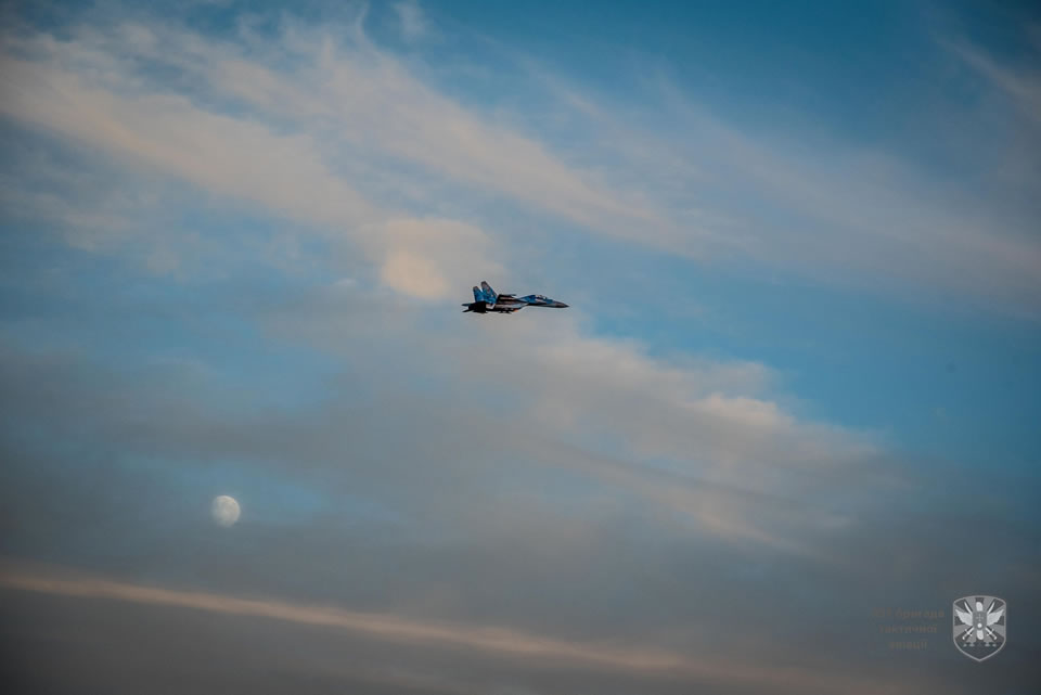 Ночные полеты в Миргородской бригаде