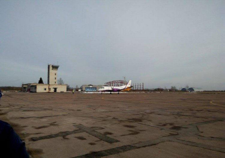 Аэропорт Житомир используют только как базу техобслуживания самолетов