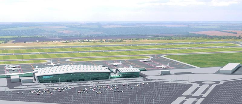 Строительство нового аэропорта Днепра начнется до конца сентября - Зеленский