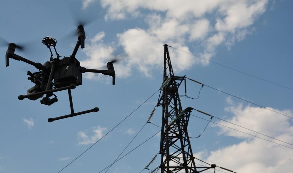 ДТЭК Сети запустил проект мониторинга электросетей беспилотниками