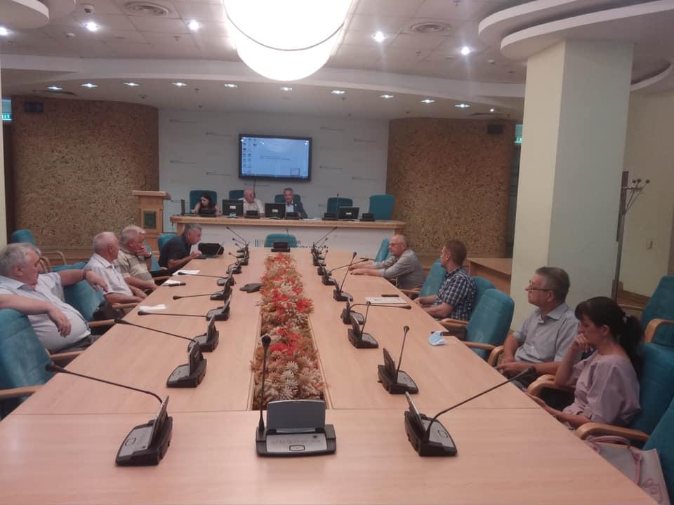 Состоялось очередное заседание Общественного Совета при ГАСУ