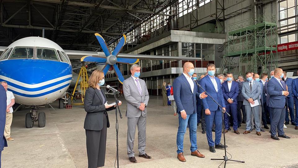 Завершился круглый стол авиастроителей в Харькове