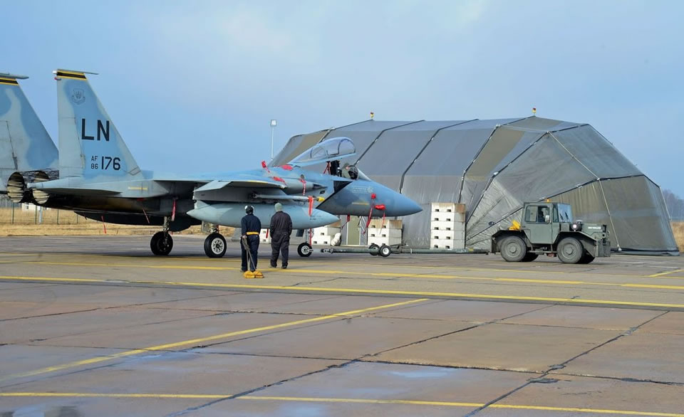 НАТО модернизировало авиабазу в Литве