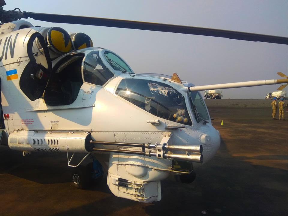 Ми-24 покидают Конго
