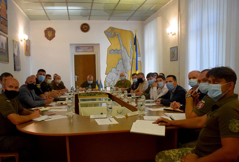 Во Львове силовики провели межведомственное совещание по усилению борьбы с незаконным ...