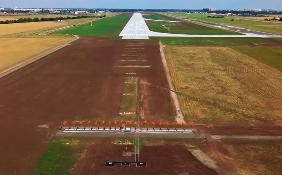 Итоговый результат строительства Международного Аэропорта Одесса