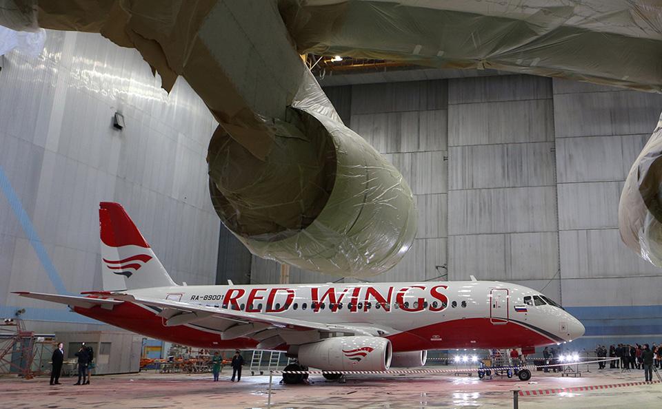 «Ростех» передаст Red Wings 30 невостребованных Superjet 100