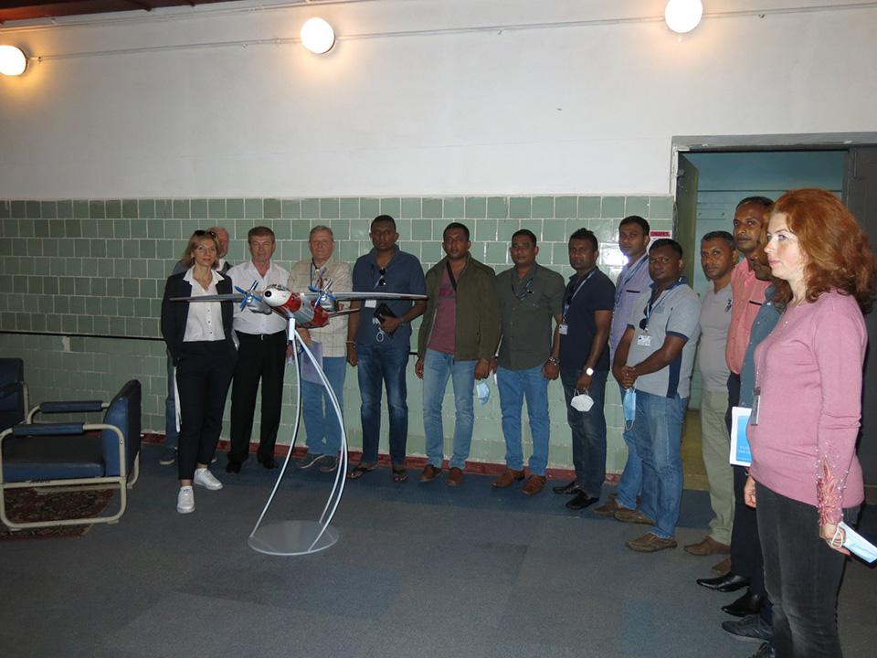 Специалисты Украэроруха будут обучать пилотов Шри-Ланки