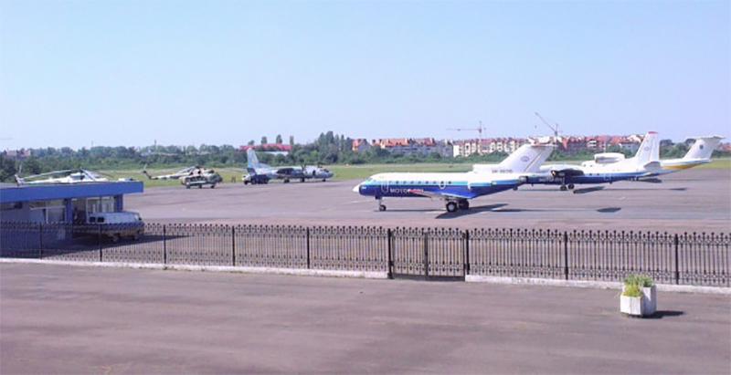 За пол года из аэропорта Ужгород отправлено 44 чартерных рейса